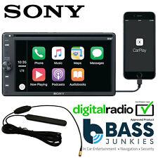 Sony XAV-AX205DB 6.4 DAB CD MP3 DVD CarPlay Bluetooth Android Iphone Car Stereo