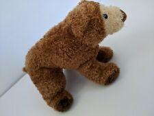 "Douglas The Cuddle Toy Brown Bear Bean Bag Plush stuffed animal 9"" soft"