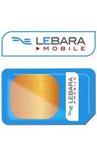 Lebara Mobile Sim Card Pay As You Go Standard, Micro & Nano Sim