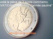 2 euro VATICAN 2008 année Saint Paul Vaticano Vatikan San Paolo