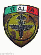 Patch G.I.S. Carabinieri Gruppo Intervento Speciale Mimetica Vegetata Toppa Scud