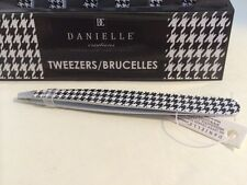 DANIELLE CREATIONS TWEEZERS HOUNDSTOOTH BLACK & WHITE