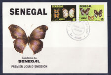 SENEGAL 1er jour    papillons    1982