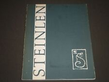 1963 THEOPHILE ALEXANDRE STEINLEN BY ALAN M. FERN SOFTCOVER BOOK - KD 4284