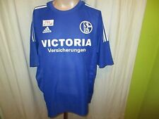 "FC Schalke 04 Adidas Trikot 2002/03 ""Victoria Versicherungen"" Gr.XL Neu"