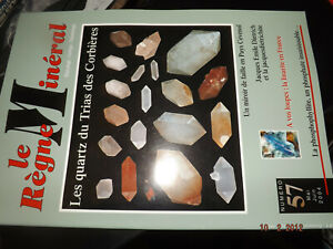 fff42§§ Revue Le Regne Mineral n°57 Quartz Trias / Linarite / Phosphophyllite