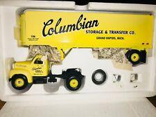 Rare COLUMBIAN STORAGE of GRAND RAPIDS - 1960 B MACK SEMI TRUCK  -  First Gear