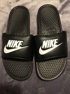 Mens Nike Sliders Flip Flops Size 10 Bnwot