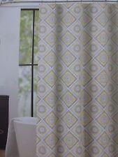 "Cynthia Rowley Turkish Tile Fabric Shower Curtain 72"" x 72"" NIP"