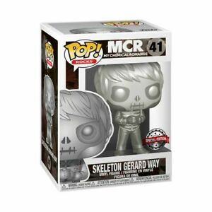 My Chemical Romance - Gerard Way Skeleton Platinum Metallic US Exclusive Pop!...