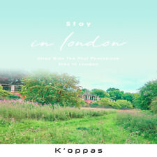 K-pop 스트레이 키즈 STRAY KIDS Stay in London First Photo Book+Photo+DVD+Benefits