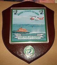 Irish Coast Guard Wall Plaque personalised