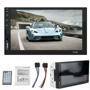 Car Stereo FM Radio Multimedia MP5 Player 2 Din 7In HD Touch Screen Bluetooth