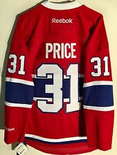 Reebok Premier NHL Jersey Montreal Canadiens Carey Price Red sz S