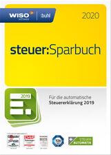 Download-Version WISO steuer:Sparbuch 2020 für die Steuererklärung 2019