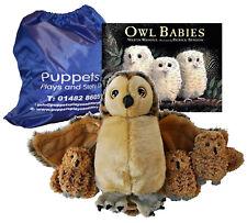 Owl Babies Story Book Puppet Set Sack Bag Teaching Resources EYFS Preschool
