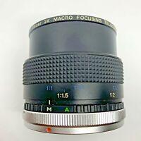 Vivitar Macro Focusing 2x Tele-Converter Canon MC  C/FD Mount - FREE SHIPPING