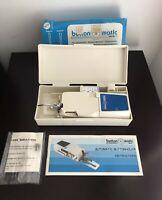 Automatic Buttonholer By Button Matic for Sewing Machines In Original Case. New