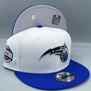 Orlando Magic Eastern Conf. 9FIFTY NBA New Era Snapback White & Blue Hat