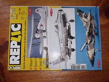 $$b Revue Replic N°105 Polikarpov Po-2  Mystere IV A  Tornado GR I  camouflage