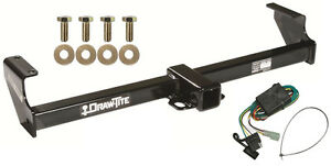 1999-2004 CHEVROLET TRACKER TRAILER HITCH W/ WIRING KIT DRAW-TITE CLASS III NEW