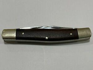 Vintage BROWNING 3 blade ROSEWOOD Handle Pocket Knife  Made in Germany