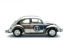 Johnny Lightning Disney Fully Loaded Herbie The Love Bug Volkswagen Chrome 1/64