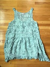 Intimately FREE PEOPLE Cami Dress Lingerie XS Blue Flowing Lightweight