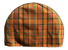Westfalia spare wheel cover for VW T2 Bay 73-79 orange plaid as original C9254O