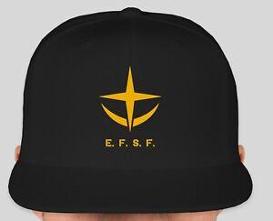 US Seller Fast Shipping Gundam EFSF Embroidered Baseball Cap Hat