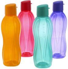 New Tupperware Aqua Safe Flip Top Water Bottle Bottles 750 ml  25 Oz Set of 4