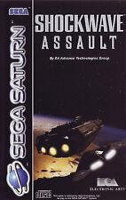 ## Shockwave Assault (mit OVP) - SEGA SATURN Spiel - TOP ##