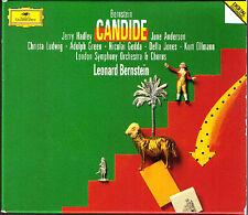 BERNSTEIN CANDIDE Jerry Hadley June Anderson Christa Ludwig Nicolai Gedda DG 2CD