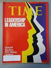 Time Magazine July 15 1974 Leadership In America 200 Rising Leaders - Weekly