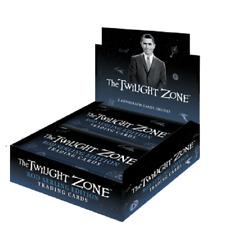 Twilight Zone Rod Serling Edition Trading Cards Sealed Box, 2 Autographs + Promo
