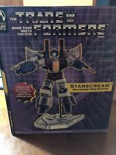 Transformers Skywarp G1 Statue Palisades Bust Small Blue Planet Exclusive #4/300