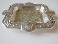 930 93% Sterling Silver Xochimilco Mexico Ashtray 47 Grams
