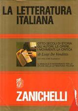 MU2 La letteratura italiana De Vendittis Zanichelli