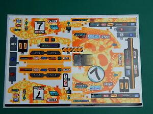New Genuine Lego Technic stickers, 4x4 XTreme Off-Roader set 42099