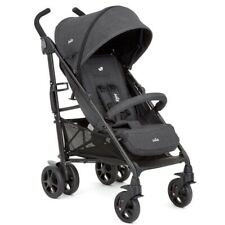 Joie Brisk Suede Grey Stroller With Raincover and Footmuff