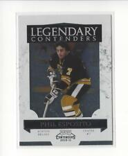 2010-11 Playoff Contenders Legendary Contenders #2 Phil Esposito Bruins