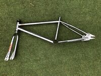 CW ZX Pro Frame + Tange TRX Forks Old School Vintage BMX