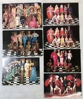 Vintage Finocchio's Postcard Lot 7 Drag Show San Francisco Female Impersonator