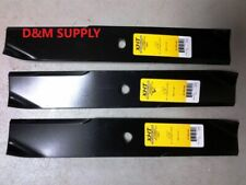 "set of 3 mower blades to fit Toro Wheel Horse 44"" 92-7952 6326 7-06738"