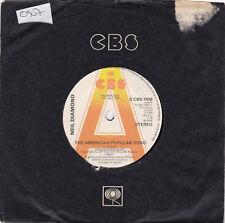 "Neil Diamond - The American Popular Song - promo  - 7"" single"