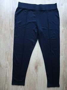 NEXT ladies black full length leggings sturdy jersey UK 18 EXCELLENT COND