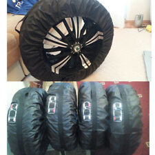 "4 Pcs Car Spare Tyre Tire Protection Cover Carry Storage Bags 13""-16"" Sedan Car"