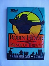 1991 TOPPS *ROBIN HOOD PRINCE OF THIEVES* MOVIE CELLO PACK