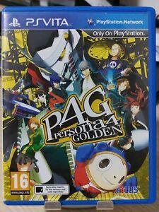 PS Vita - Persona 4 Golden (R2/EU/English/Used)