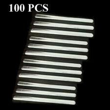 100X 85mm Aluminum Strip Nose Bridge for Clothes Face DIY with One-side Adhesive